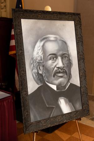 Portrait of Dr. James McCune Smith by Junior Jacques