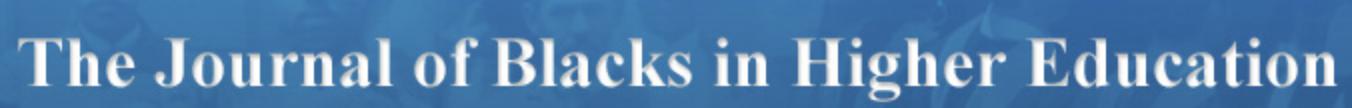 Journal of Blacks in Higher Education Logo