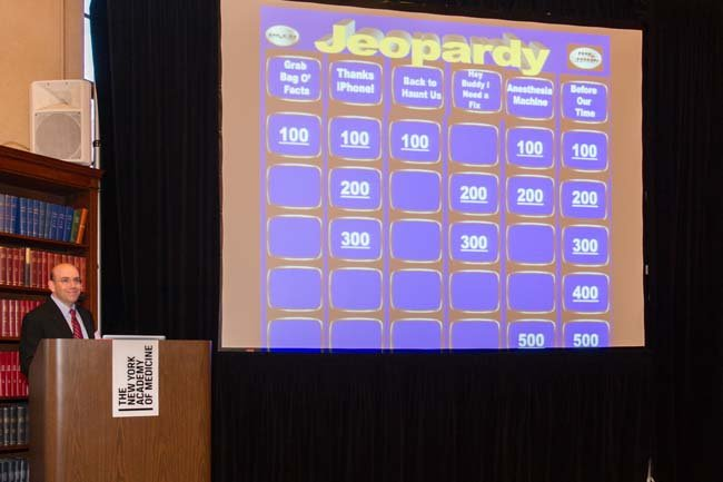 May 25, 2016: Anesthesiology Jeopardy and Case Report Presentation Night
