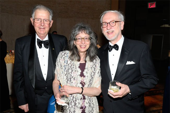Dr. Robert Ruben, Arlene Shaner and Paul Theerman