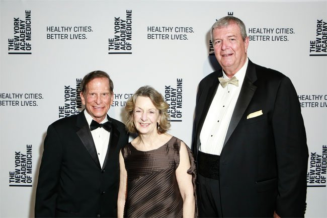 Drs. Richard N. Merkin and Jo Ivey Boufford, and Mark Wagar.