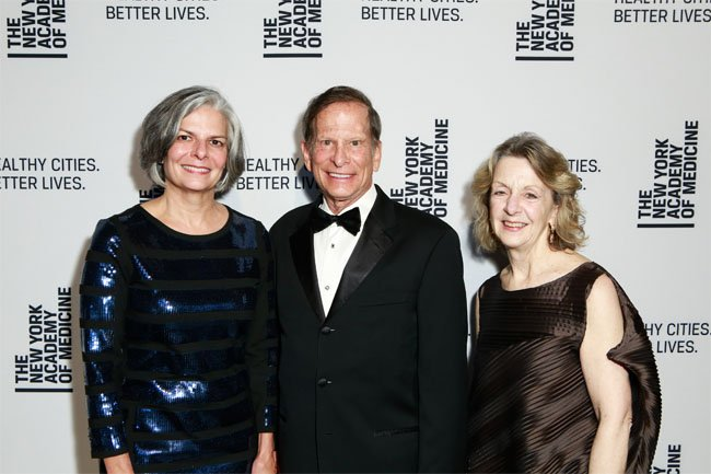 Honorees, Dr. Julie Louise Gerberding and Dr. Richard N. Merkin with Dr. Jo Ivey Boufford, recipient of the Academy's Urban Health Champion Award.