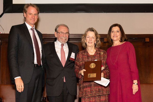 Award recipient Jo Ivey Boufford, MD