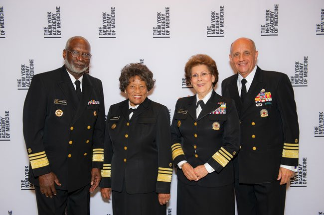 Drs. David Satcher, Joycelyn Elders, Antonia Novello and Richard Carmona