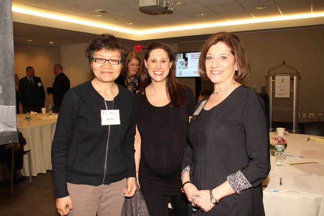 Bei Wu, NYU Incubator, Lindsay Goldman, The New York Academy of Medicine and Judith Salerno, The New York Academy of Medicine