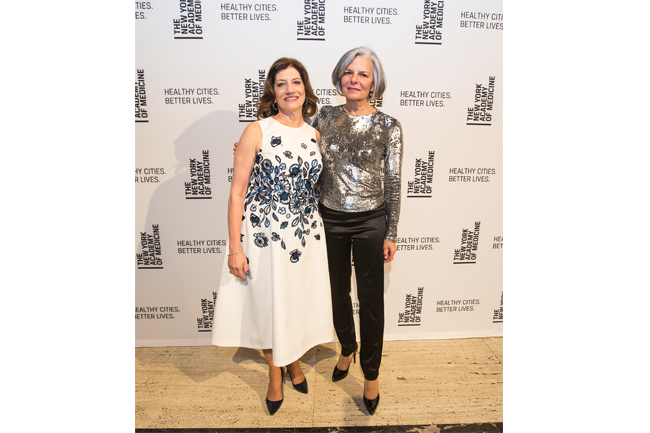 President Judith Salerno and Merck's Executive Vice President Julie Gerberding