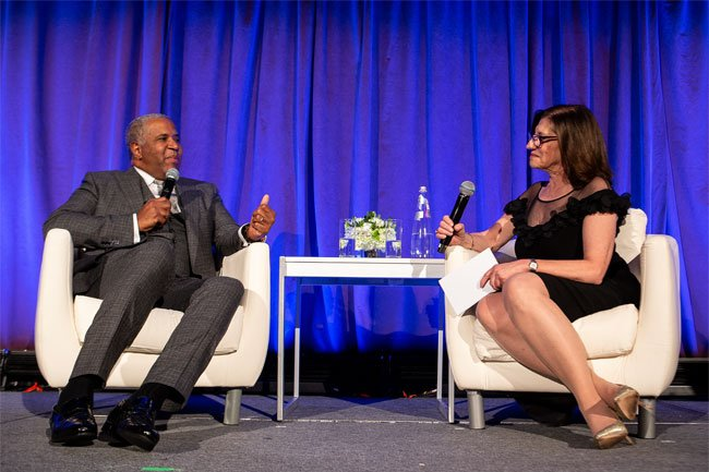 Robert F. Smith in conversation with Dr. Judith Salerno