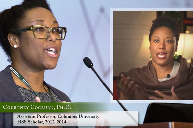 Courtney Cogburn, PhD, HSS 2012-14