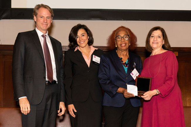 Award recipient Patricia Bath, MD