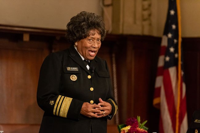 15th U.S. Surgeon General Dr. Joycelyn Elders