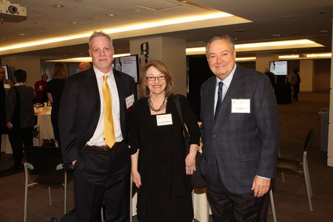 Gary Mottola, FINRA; Nanette Blandin, The Nexus Institute; Don Blandin, Investor Protection Trust