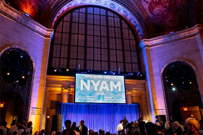 The Gala raised an additional $200,000 onsite for a total of more than $1 million to support NYAM's work